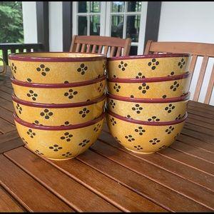 Vintage Villeroy & Boch Tropical Switch bowls